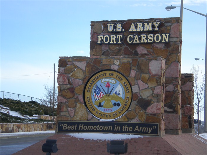 Ft Carson sign